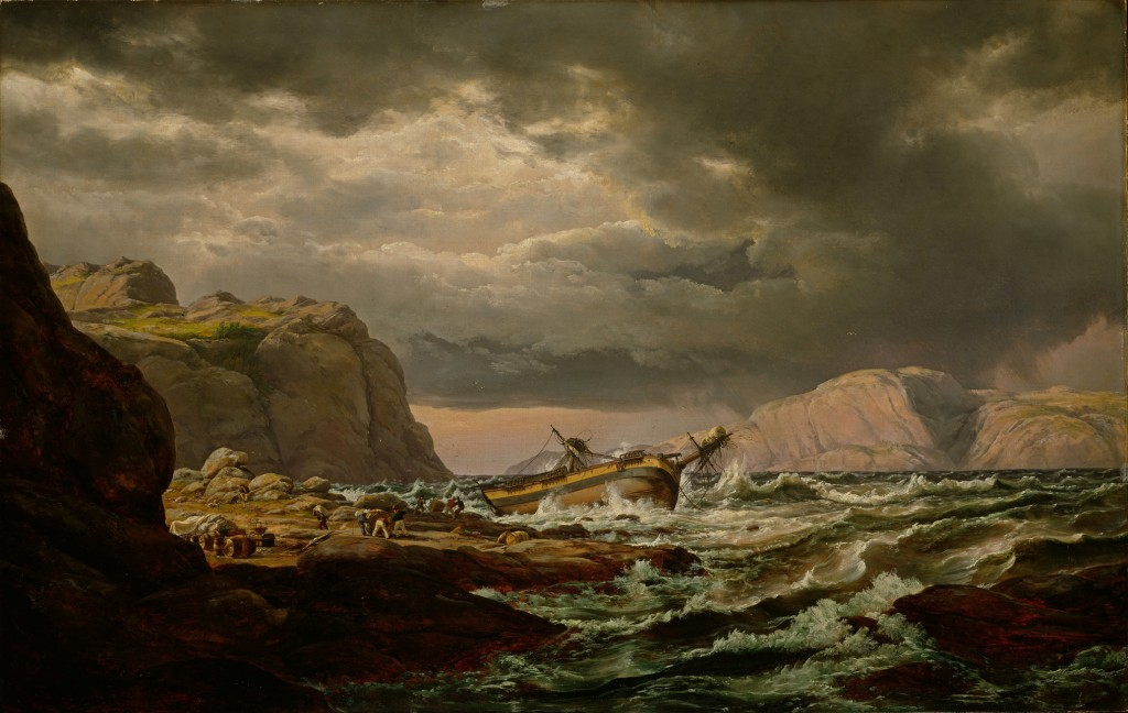 Johan_Christian_Dahl_-_Shipwreck_on_the_Coast_of_Norway_-_Google_Art_Project Informationsforum! klein